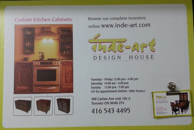 Inde-art design house toronto