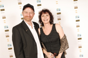 1th cca's presenters Bruce Hunter and Rosie Shuster